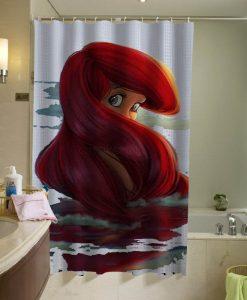Ariel Disney shower curtain