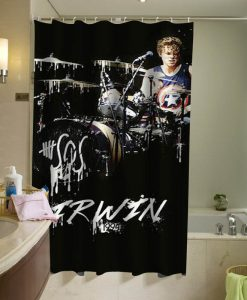 Ashton Irwin curtain, 5sos Luke Hemmings Shower Curtain
