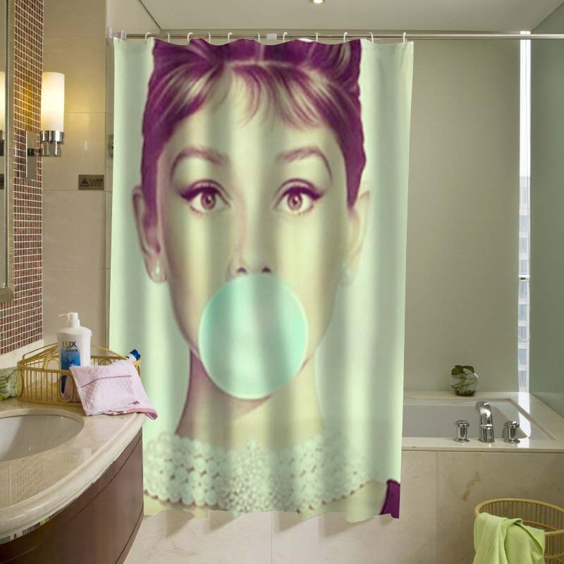 Audrey Hepburn Shower Curtain