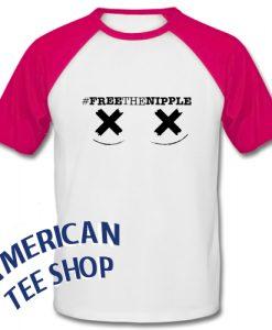 Free The Nipple Baseball Shirt