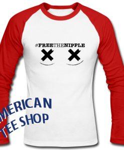 Free The Nipple Raglan Longsleeve