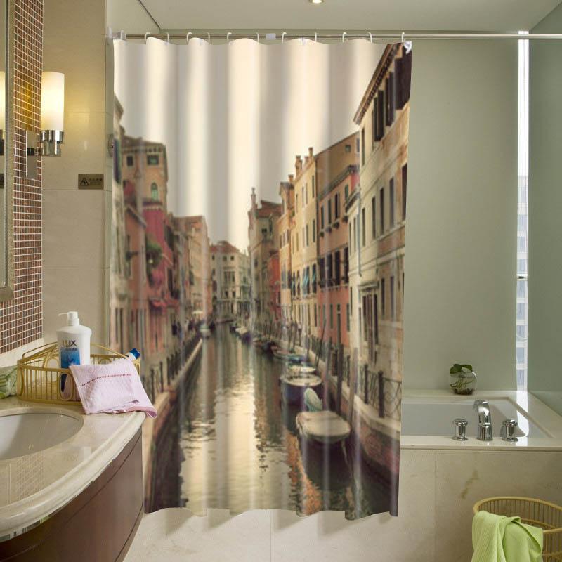 Venice Italy Shower Curtain