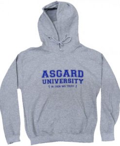 Asgard University Thor Hoodie