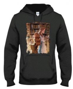 Belle and Hermione Hoodie