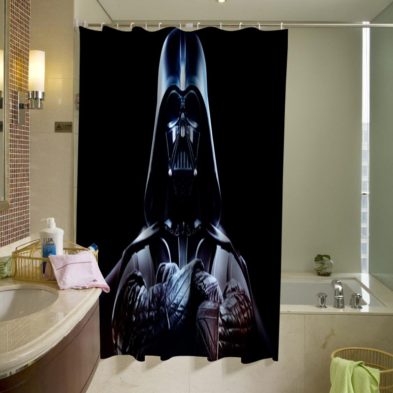 Skeptical Darth Vader is skeptical Shower Curtain