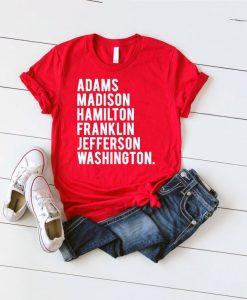 USA Indepence Day Tshirt
