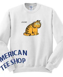 Anime Garfield Sweatshirt