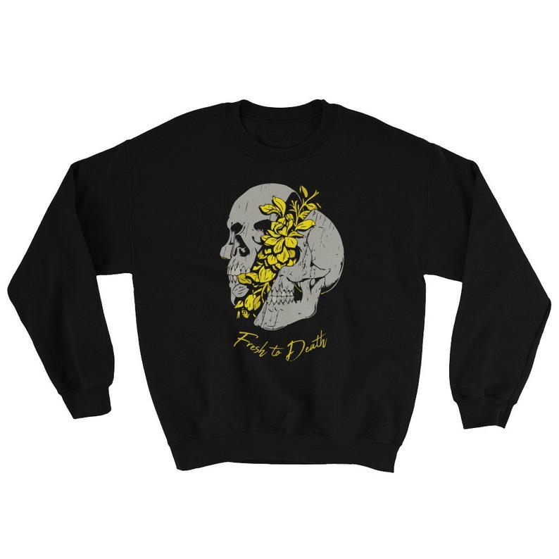 Fresh To Death Sneaker Sweatshirt