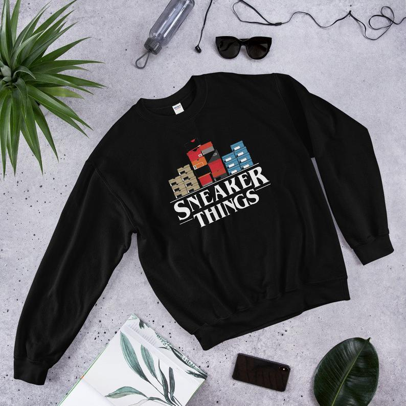Stranger Things Sneaker Things Sweatshirt