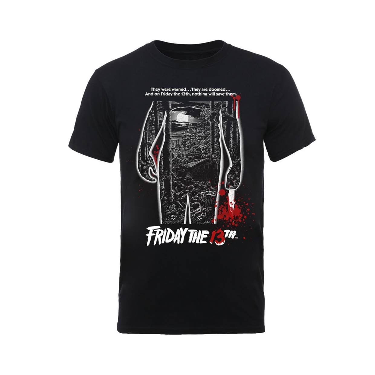 Friday The 13Th Bloody Poster T-Shirt