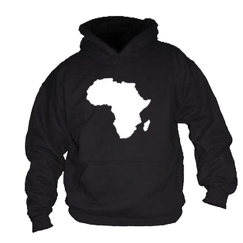 Africa Map outline Hoodie