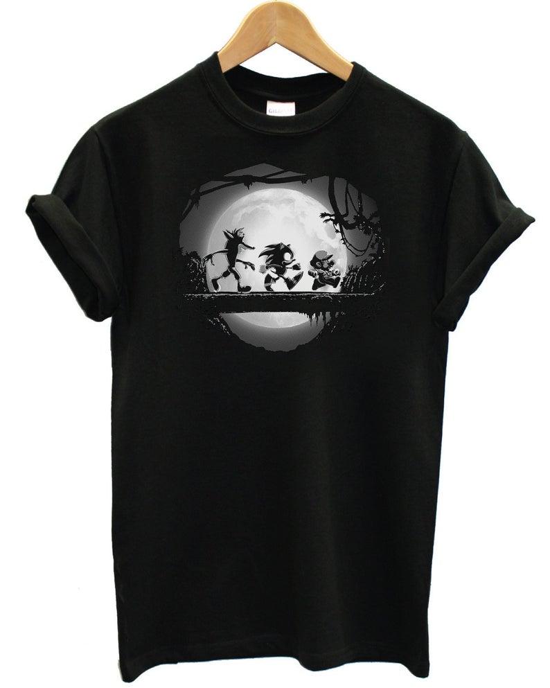 Sonic Mario Crash Hakuna Matata Mash Up Parody Novelty Unisex T-Shirt