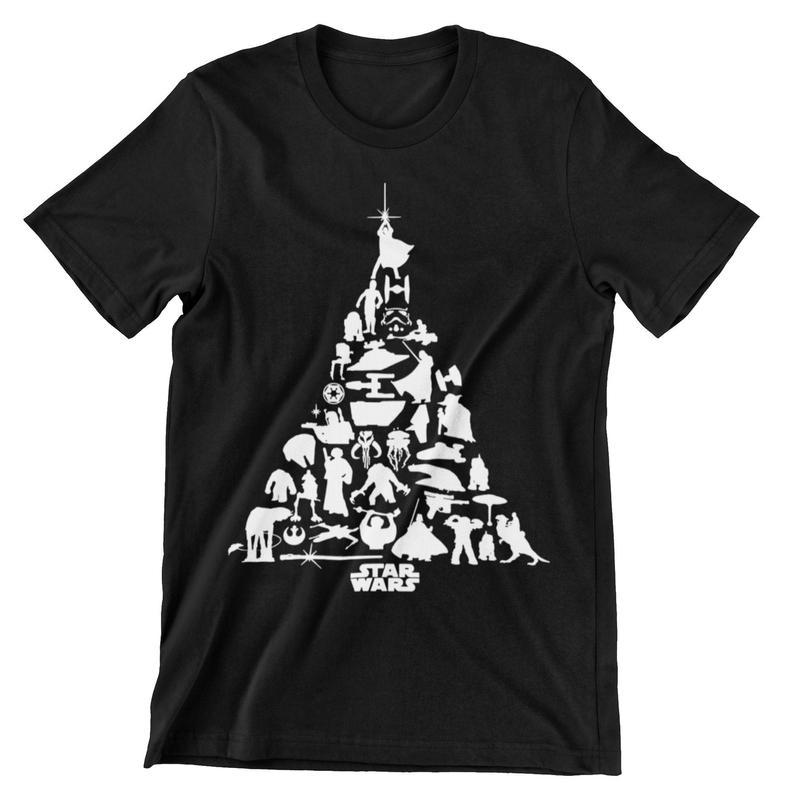 Star Wars Christmas Tree T-Shirt