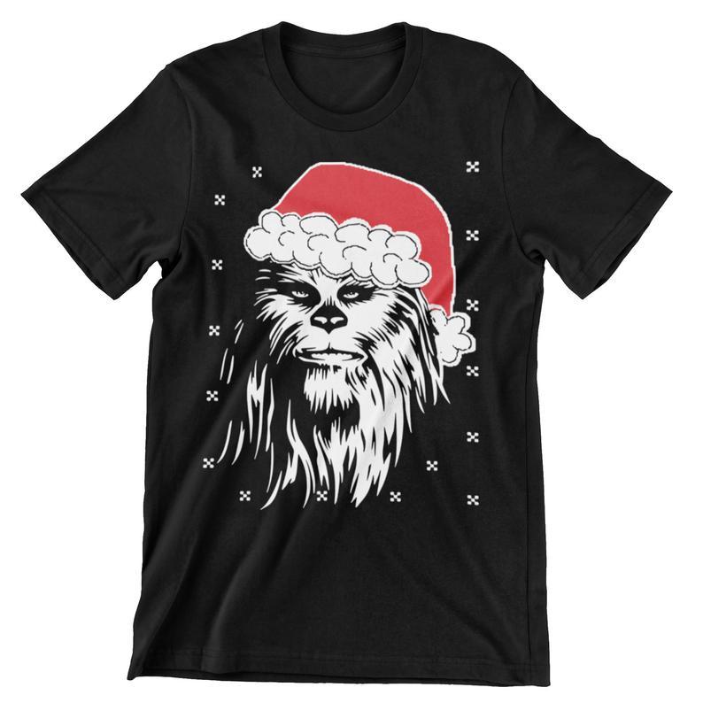 Star Wars Wookiee Xmas Hat Unisex T Shirt