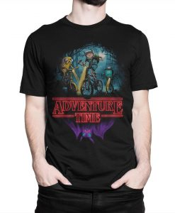 Adventure Time x Stranger Things T-Shirt