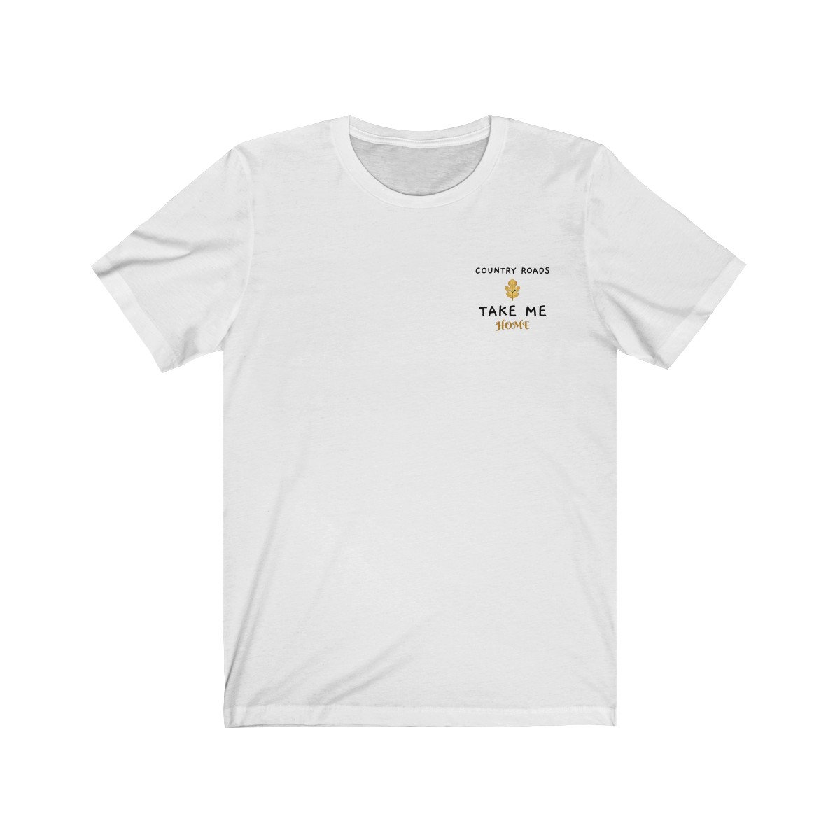 Country Roads Take Me Home John Denver T-Shirt