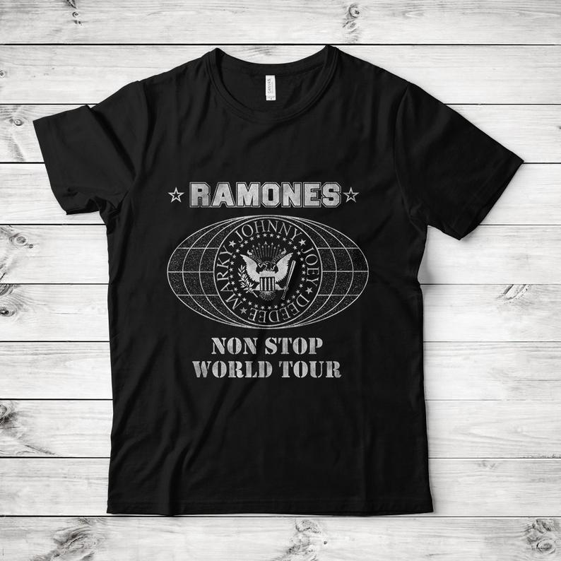 Ramones Non Stop World Tour T-Shirt