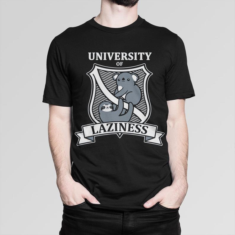 University of Laziness Funny T-Shirt