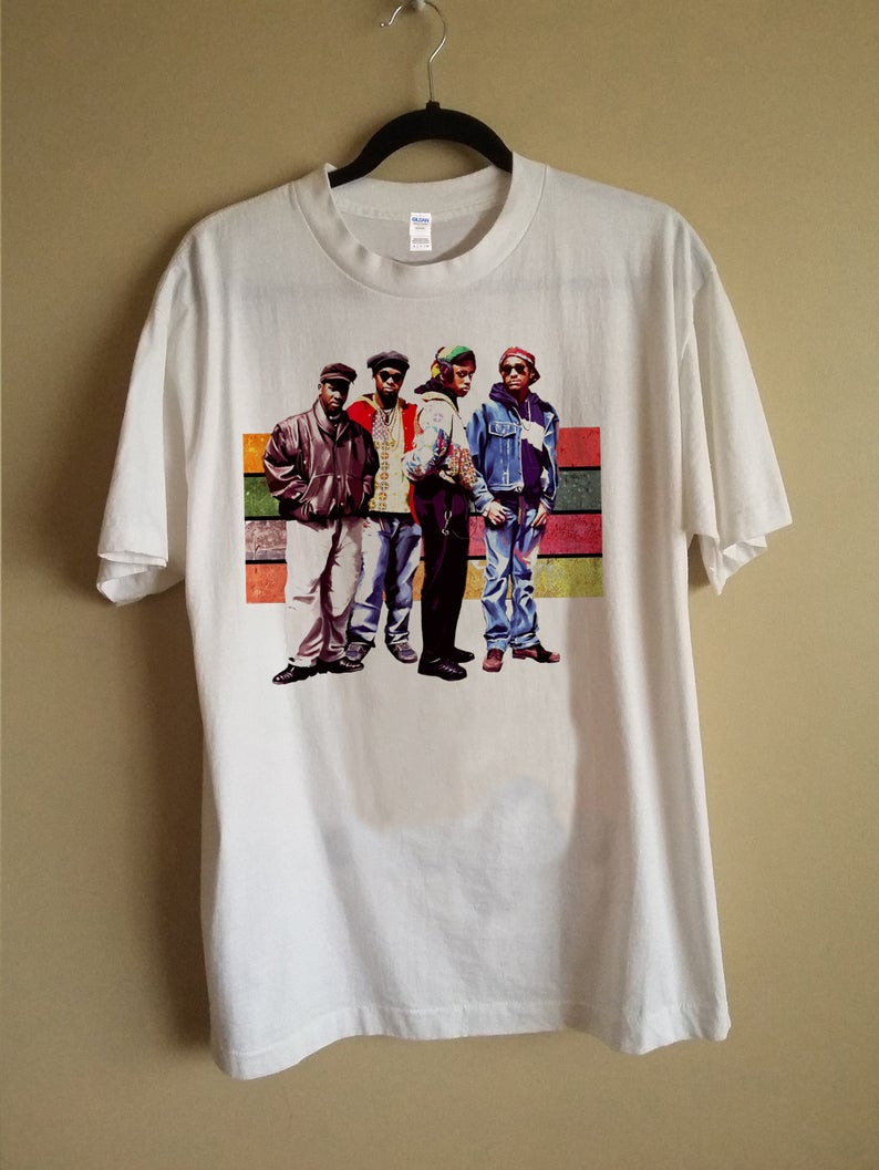 Tribe Called Quest 90s Group Shot So Fresh and So Clean T Shirt