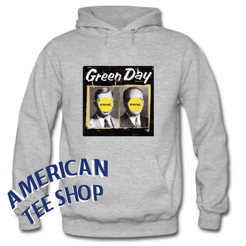 Green Day Nimrod Hoodie