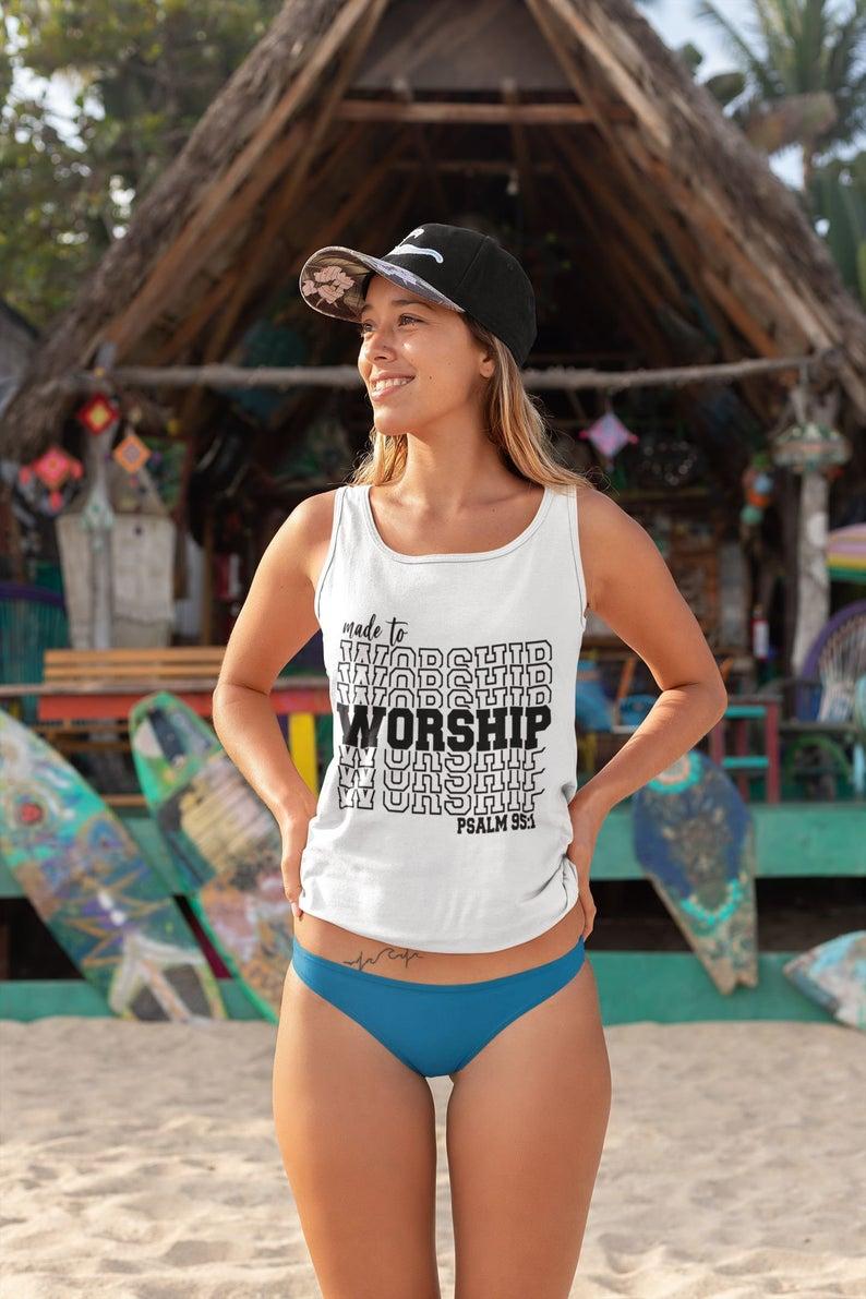 Made To Worship Tank Top
