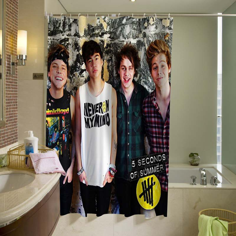 5 Seconds of Summer 5SOS 006 Shower Curtain