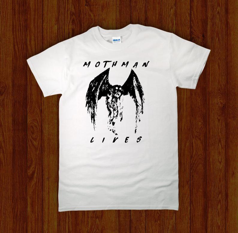 MOTHMAN LIVES T Shirt